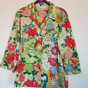 💥4/30 Natori Private Luxuries button down shirt
